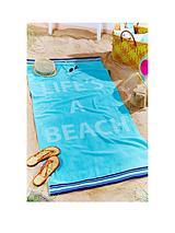 Life's a Beach Large Towel