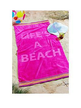 lifersquos-a-beach-large-towel