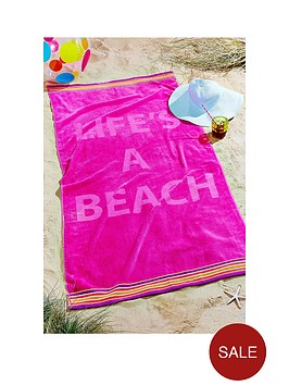 lifersquos-a-beach-large-towel