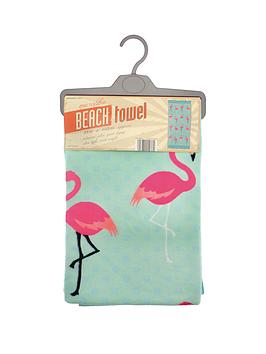 flamingo-spot-beach-towel