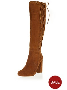river-island-suede-knee-high-lace-up-boots-with-block-heelnbsp