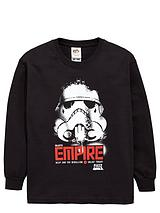 Boys Long Sleeve Galactic Empire Top