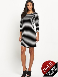 vila-tinny-stripe-dress