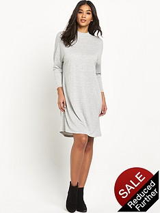 vila-chaos-three-quarter-funnel-neck-dress