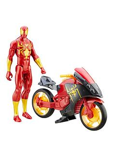 marvel-iron-spider-with-repulsor-cycle