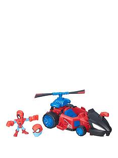 marvel-avengers-hero-mashers-micro-spiderman-and-vehicle