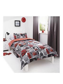 london-bus-rotarynbspduvet-cover-and-pillowcase-set