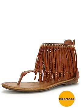 glamorous-fringed-flat-sandal
