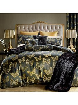 By Caprice Butterfly Gold Duvet Cover