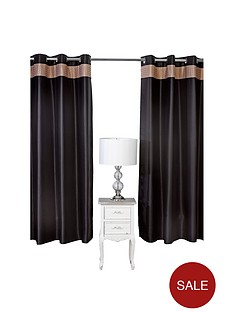 by-caprice-butterfly-gold-black-satin-eyelet-curtains