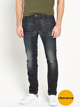 v-by-very-tapered-fit-worn-denim-jean