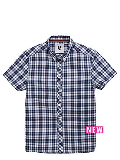 v-by-very-boys-short-sleeved-check-shirt