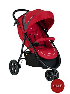 joie-litetrax-3-wheel-pushchair-with-footmuff