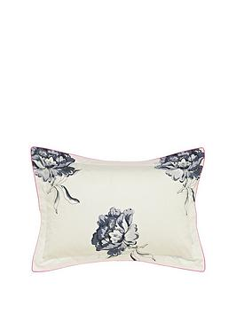 joules-monochrome-regency-floral-oxford-pillowcase