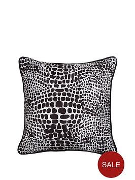 fearne-cotton-snake-print-cushion