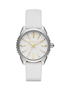 diesel-diesel-nuki-white-dial-and-stainless-steel-case-with-white-leather-strap-ladies-watch