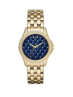 armani-exchange-armani-exchange-blue-dial-gold-ip-case