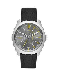 diesel-overflownbspgunmetal-case-and-black-leather-strap-mens-watch