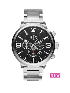 armani-exchange-black-dial-and-stainless-steel-bracelet-mensnbspwatch