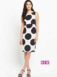 v-by-very-double-layered-spot-bodycon-dress