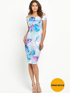 v-by-very-printed-bardot-bodycon-dress