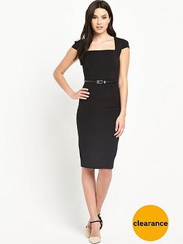 v-by-very-short-sleeve-midi-pencil-dress