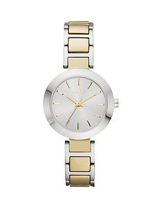 dkny-dkny-fashion-stainless-steel-bracelet-gold-ip-centre-links-ladies-watch
