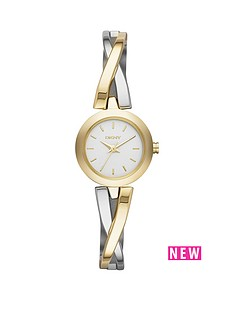 dkny-dkny-fashion-crosswalk-two-tone-gold-ip-stainless-steel-ladies-watch