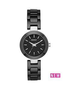 dkny-dkny-fasion-stanhope-analogue-ceramic-black-bracelet-ladies-watch
