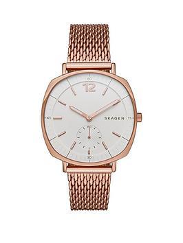 skagen-rungstednbsprose-gold-stainless-steel-mesh-bracelet-ladies-watch