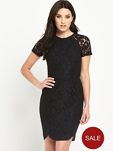 v-by-very-lace-panel-contrast-dress