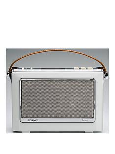 Goodmans Oxford ll Bluetooth® DAB Radio - Porcelain