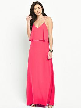 Photo of V by very double layered strappy maxi dress