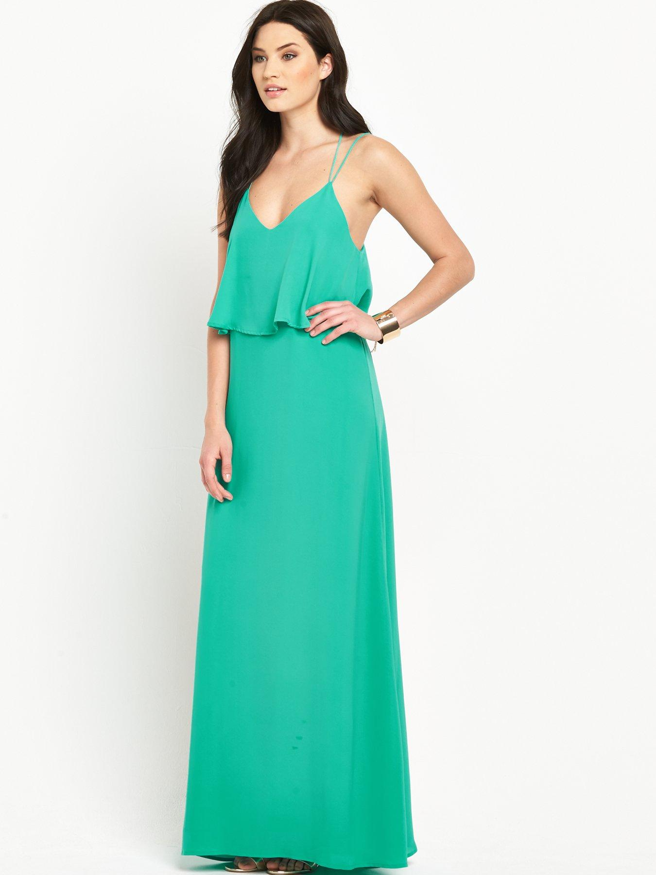 Green maxi dress very co uk