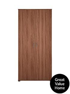 Alpha 2-Door Wardrobe