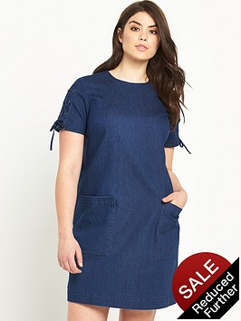 so-fabulous-denim-tie-sleeve-dress