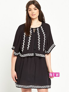 so-fabulous-double-layer-embroidered-hanky-hem-dress