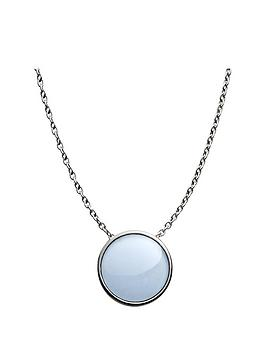 skagen-sea-glass-stainless-steel-oval-pendant