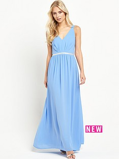 jarlo-jarlo-cristobel-embellished-waist-maxi-dress