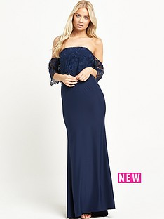 jarlo-sabrina-lace-shoulder-maxi-dress