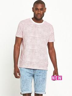 v-by-very-short-sleeve-crew-neck-hand-drawn-stripe-t-shirt