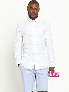 v-by-very-long-sleeve-stripe-oxford-shirt