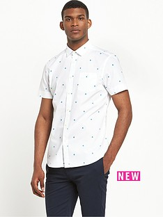 v-by-very-short-sleeve-geo-print-geo-shirt