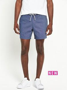 v-by-very-chambray-shorts