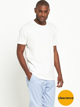 v-by-very-short-sleeve-crew-blister-stitch-t-shirt