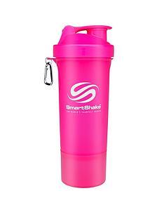 smartshake-slim-500ml-multi-storage-shaker-bottle-neon-pink