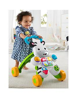 Fisher-Price Learn With Me Zebra Baby Walker