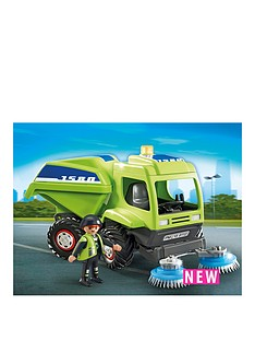 playmobil-recycling-street-cleaner
