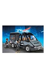 Police Van with Lights and Sound