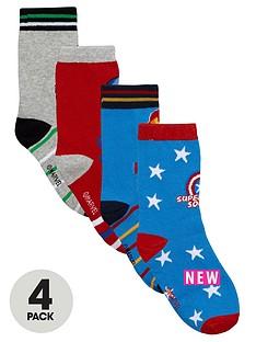marvel-boys-avengers-socks-4-pack